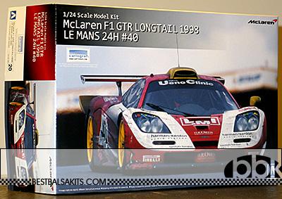 AOSHIMA 1/24 McLAREN F1-GTR LM '98 TEAM EMI UENO CLINIC #40