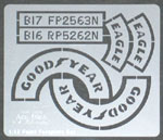 ATS 1/12 GOODYEAR Tire Paint Template