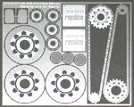 ATS 1/12 DUCATI 900 MIKE HAILWOOD Mechanical Parts Set