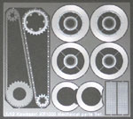 ATS 1/12 Kawasaki KR1000 Mechanical Parts Set