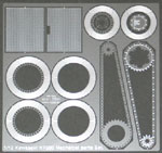 ATS 1/12 Kawasaki KR500 Mechanical Parts Set