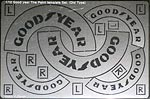 ATS 1/12 GY OLD STYLE TIRE PAINT TMPLT for TAMIYA BANDAI