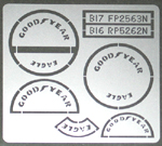 ATS 1/20 GOODYEAR EAGLE TIRE PAINT TEMPLATE