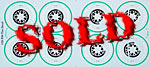ATS 1/20 TIRE & WHEEL DISK DECALS TAMIYA 1/20 FERRARI F60