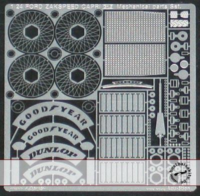 ATS 1/24 FORD ZAKSPEED Mechanical Parts Set