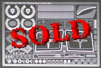 ATS 1/24 FERRARI 330 P4 Mechanical Parts Set