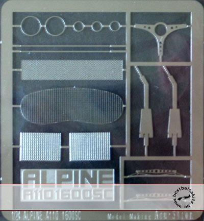 ATS 1/24 ALPINE RENAULT A110 1600SC