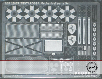 ATS 1/24 FERRARI TR 250 TESTAROSSA mechanical parts set