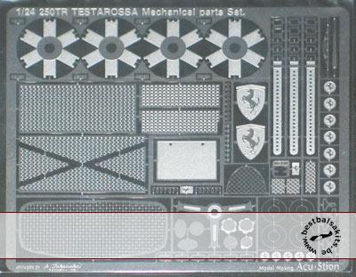ATS 1/24 FERRARI TR 250 TESTAROSSA mechanical parts set