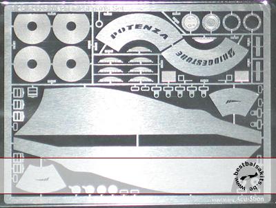 ATS 1/24 PE DETAIL UP for 1/24 REVELL FERRARI F2005 F1