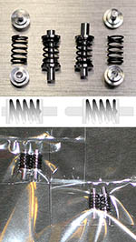 ATS 1/24 MERCEDES SL300 ALU TURNED SHOCKS FRONT & REAR