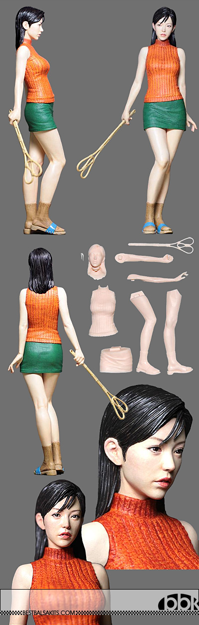 ATELIER IT 1/8 CASUAL ASIAN PIT GRID GIRL HOUSEWIFE STANDING