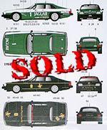 AUTOCOLOUR 1/24  '84 JAGUAR XJ-S TWR DONNINGTON 500 JPS MACAU GP