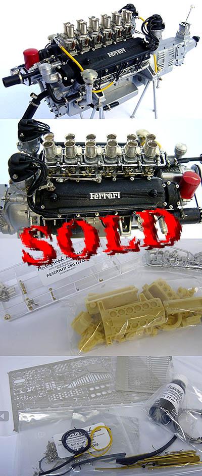 AUTOGRAPH 1/12 FERRARI 250GTO ENGINE KIT