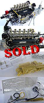 AUTOGRAPH 1/12 FERRARI 250GTO ENGINE KIT
