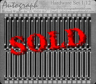 AUTOGRAPH 1/12 1/12 CABLE BINDER & HOSE CLAMPS PE