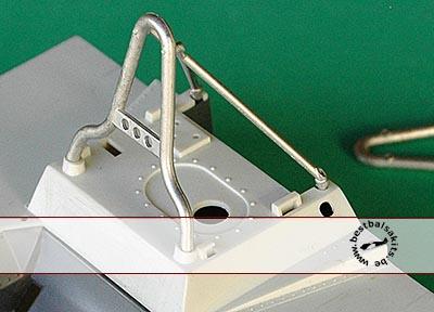 AZRM 1/12 1/12 M23 McLAREN WHITE METAL ROLL BAR '77 SEASON