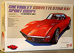BANDAI 1/12 CHEVROLET CORVETTE STINGRAY SPORT COUPE