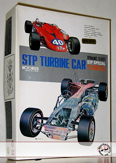 BANDAI 1/12 STP TURBINE CAR