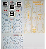 BBK 1/12 1/12 Lola MKIIIB '69 24Hr Daytona winner decal
