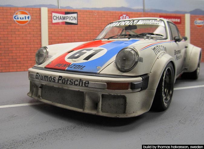 TAMIYA 1/12 Porsche 934 as raced in Daytona 77 24Hrs, built by Thomas Halvarsson