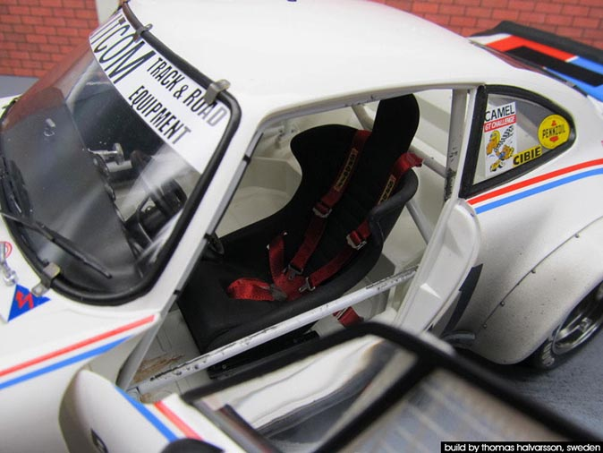 1/12 Porsche 934 as raced in Daytona 77 24Hrs, built by Thomas Halvarsson