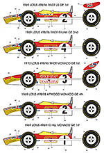 BBK 1/12 LOTUS 49B 1969 1970 HILL RINDT ATTWOOD