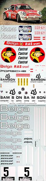 BBK 1/12 PORSCHE 934 BELGA 1985 HASPENGOUW RALLY