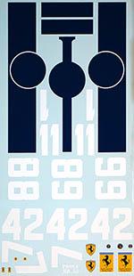 BBK 1/12 FERRARI 512F1 FLAT12 BANDINI  NART 1964 WC SURTEES