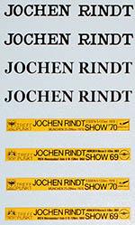 BBK 1/12 LOTUS 72C JOCHEN RINDT AUTO SHOW FILL IN