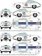 BBK 1/8 JAGUAR XK-E E-TYPE LE MANS '62 SEBRING '63