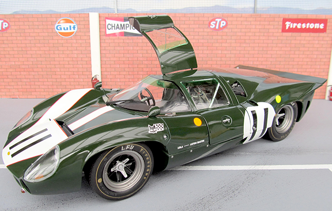 TAMIYA 1/12 LOLA ASTON MARTIN as raced in Le Mans 24Hrs 1967, built by Thomas Halvarsson