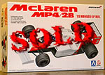 BEEMAX 1/20 McLAREN MP4/2B '85 MONACO GP PROST LAUDA MODEL KIT
