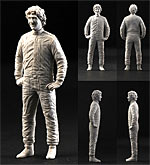 CRAFT 10 1/20 1/20 PROST STANDING FIGURE for TAMIYA FUJIMI 641/2