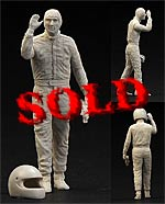 CRAFT 10 1/43 SENNA DRIVER WALKING WAVING f TAMEO BBR FEELING43