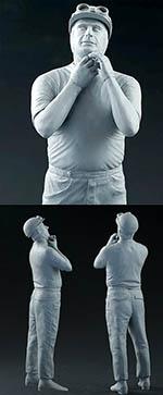 DIVE NINE 1/12 JM FANGIO STANDING FIGURE