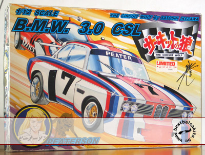 DOYUSHA 1/12 BMW 3.0 CSL CIRCUIT WOLF by Satoshi Ikezawa