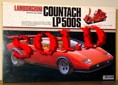 DOYUSHA 1/12 LAMBORGHINI COUNTACH LP500S
