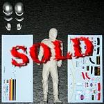 EJAN 1/12 PETERSON FIGURE TAMIYA HIRO EJAN 1/12 LOTUS 78 P34