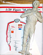 EJAN 1/20 MARIO ANDRETTI FIGURE STANDING for LOTUS