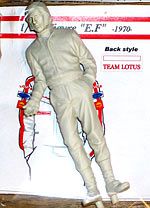 EJAN 1/20 EMERSON FITTIPALDI FIGURE STANDING for LOTUS