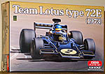 EBBRO 1/20 LOTUS 72E PETERSON FITTIPALDI DFV COSWORTH 1973