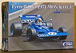 EBBRO 1/20 EBBRO TYRRELL 003 HAMMERHEAD STEWART 1971