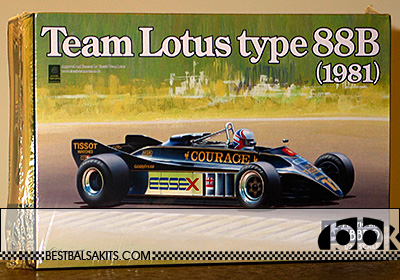 EBBRO 1/20 LOTUS TYPE 88B COSWORTH 1981 F1 BRITISH GP MANSELL