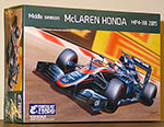 EBBRO 1/20 McLAREN HONDA MP4/30 MID SEASON ALONSO BUTTON