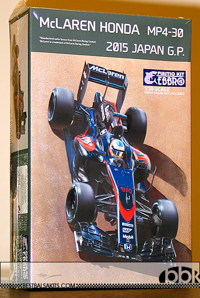 EBBRO 1/20 McLAREN HONDA MP4/30 2015 JAPAN GP ALONSO BUTTON