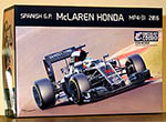 EBBRO 1/20 McLAREN HONDA MP4/31 SPANISH GP 2016 SEASON