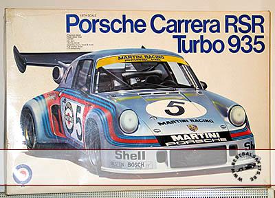 ENTEX 1/8 PORSCHE 935 RSR CARRERA TURBO van LENNEP MULLER