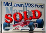 ENTEX 1/8 M23 FORD McLAREN TEXACO MARLBOLO