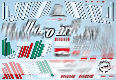 ARTEFICE 1/12 SPONSOR DECAL DUCATI DESMO 07 for PMA MINICHAMPS